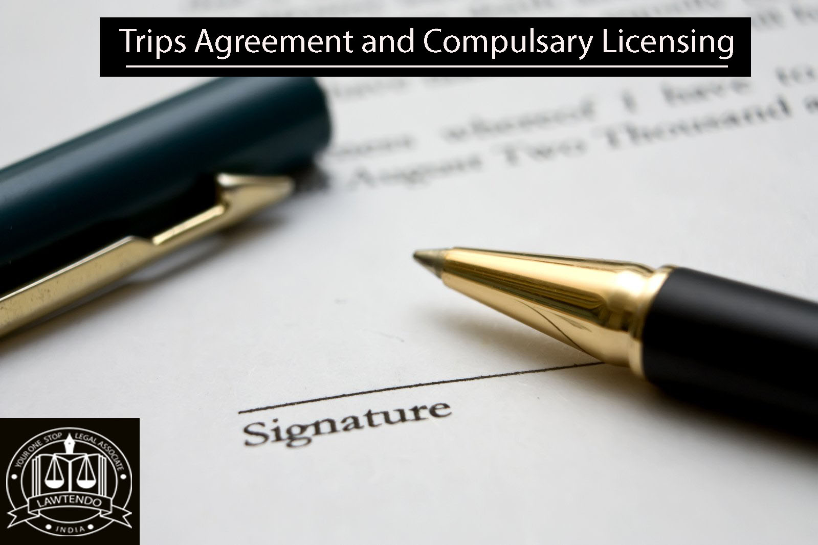 Trips Agreement and Compulsory Licensing